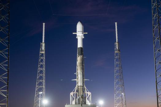 SXM 7 Falcon 9 B1051 LC 40 vertical 121020 SpaceX 1 SpaceX Boca Chica