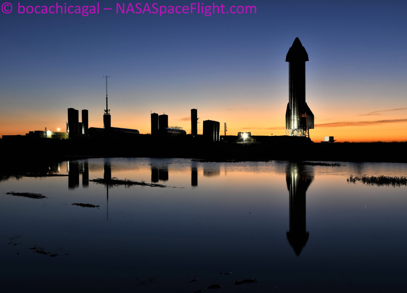Starship SN9 makes speedy recovery ahead of Static Fire and potential launch – NASASpaceflight.com