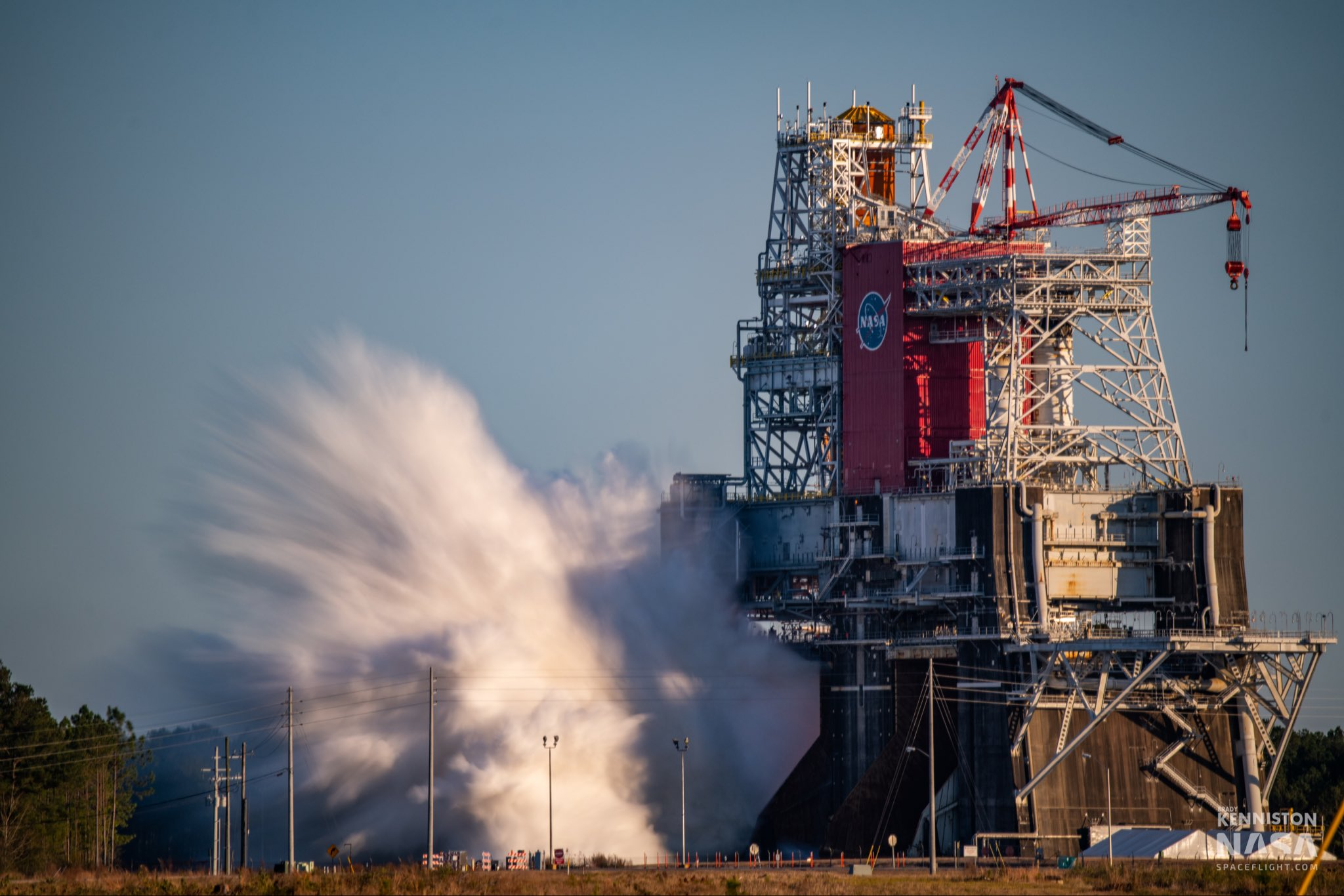 NASA SLS Core Stage aborts high-stakes Green Run static fire