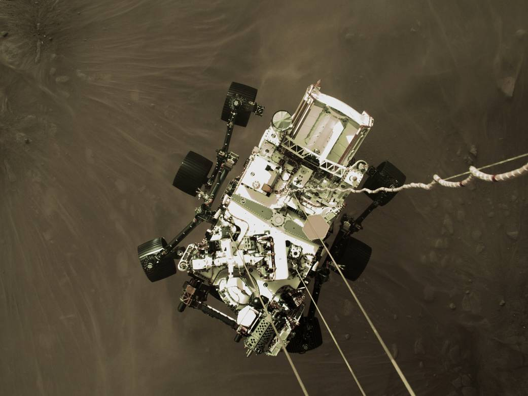 Perseverance rover operating nominally in preparation for surface operations
