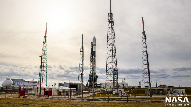 Falcon 9 Starlink v1.0 L22 set for liftoff from Cape Canaveral SLC-40