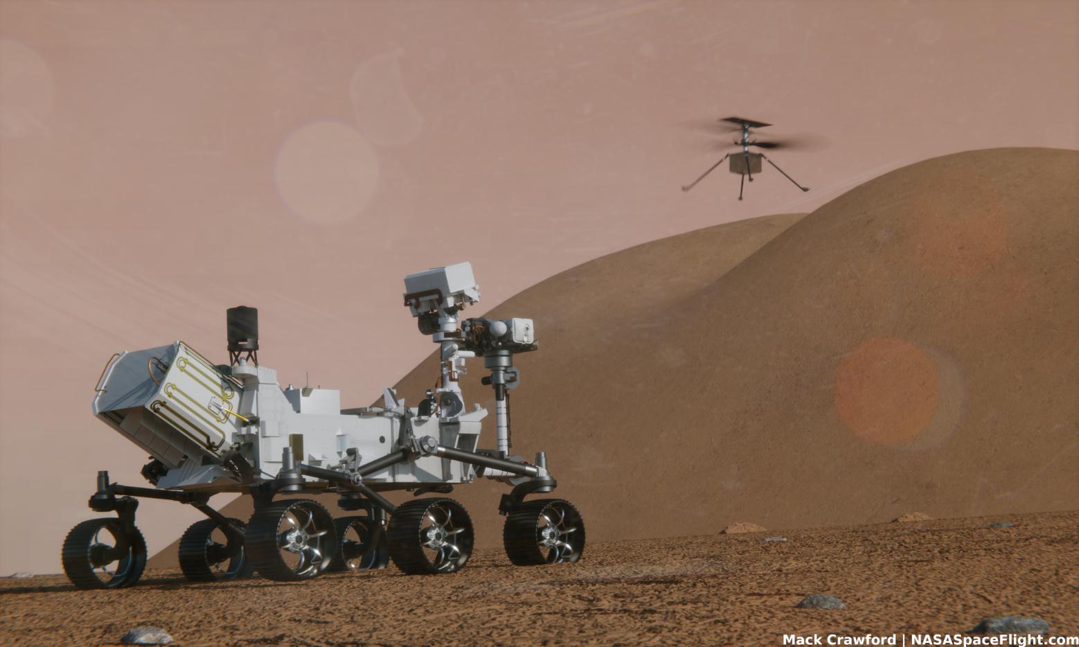 NASA preparing to fly Ingenuity Mars drone enabling future airborne missions – NASASpaceFlight.com – NASASpaceflight.com