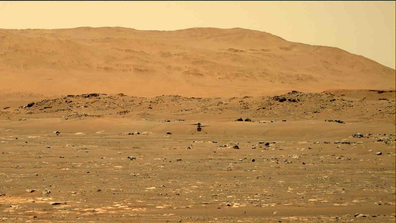 NASA Ingenuity completes autonomous flight on Mars