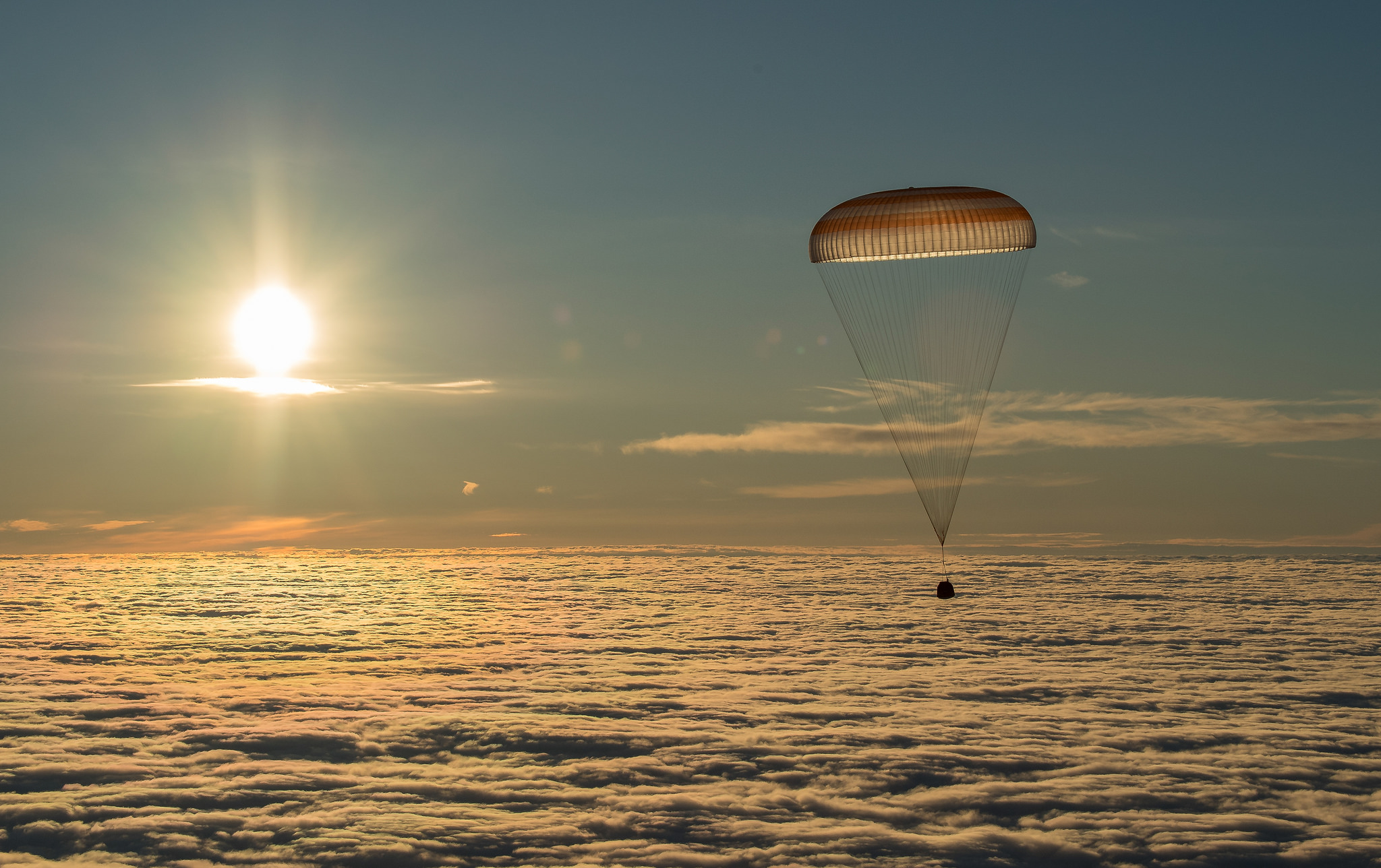 Soyuz MS-17 safely returns three Station crewmembers to Kazakhstan