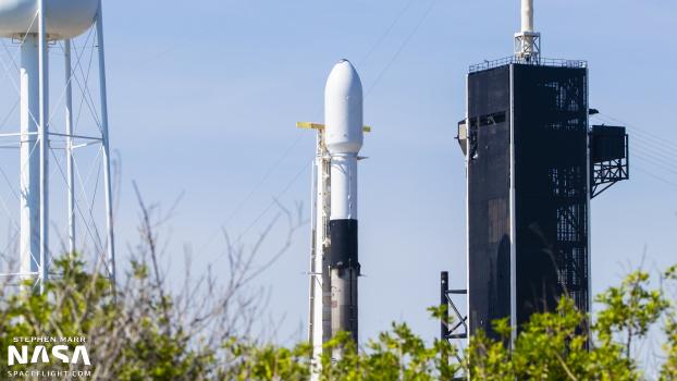 SpaceX resumes parallel pad operations with Starlink v1.0 L25 mission - NASASpaceFlight.com - NASASpaceflight.com