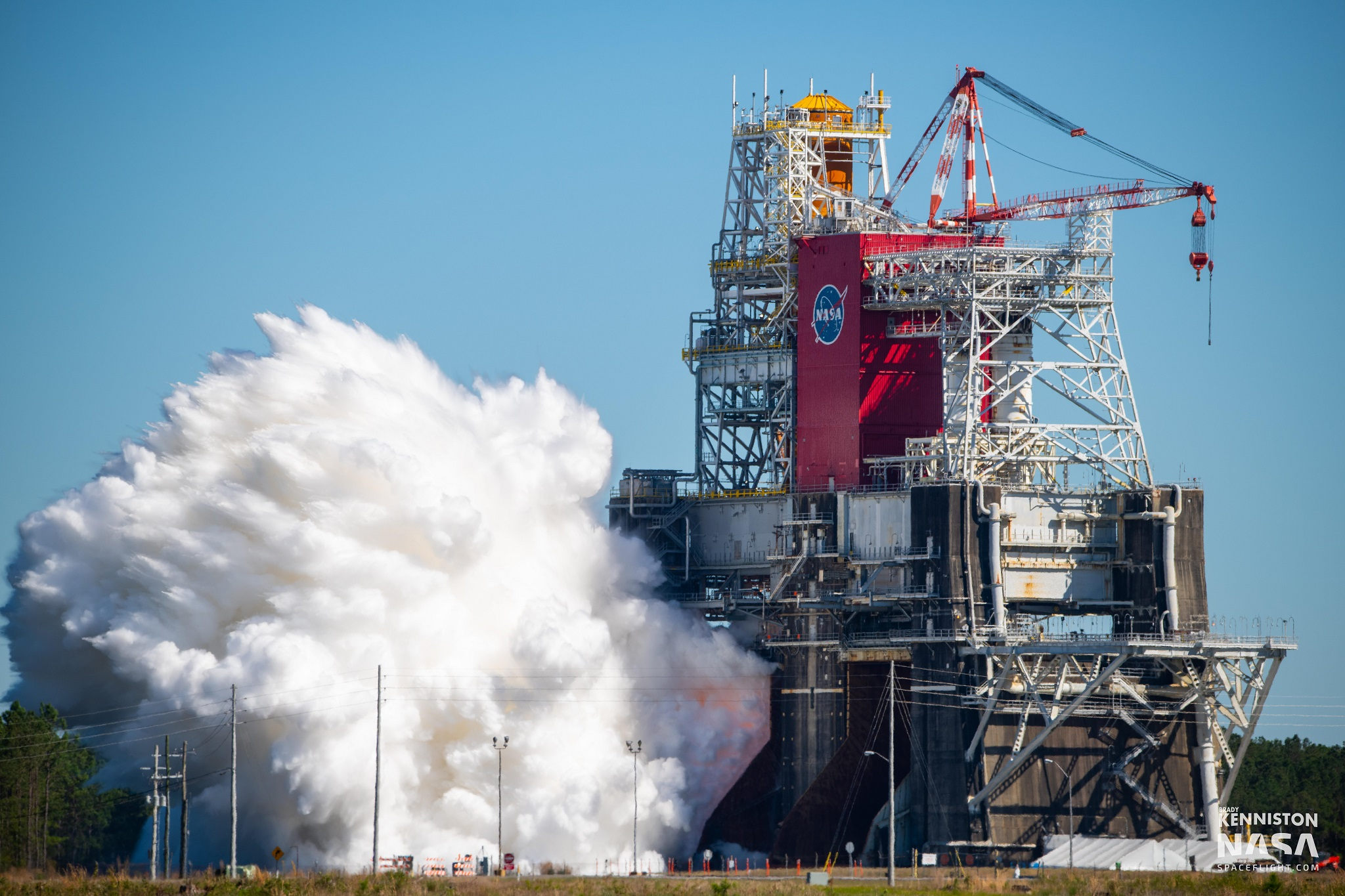 SLS Core Stage Green Run validates propulsion system performance and modeling