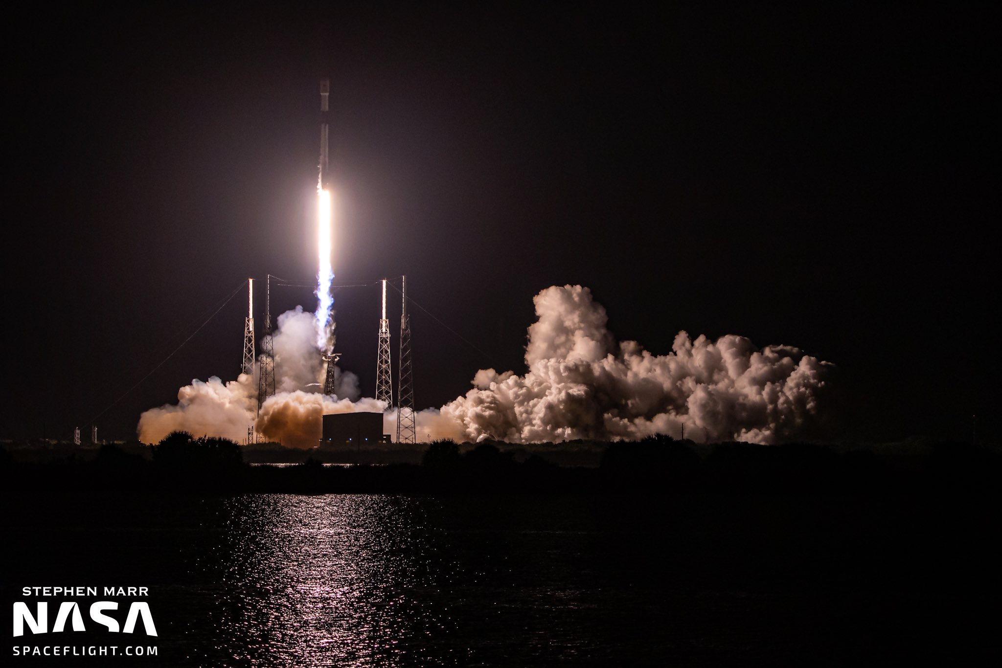 SpaceX flies historic 10th mission of a Falcon 9 as Starlink constellation expands