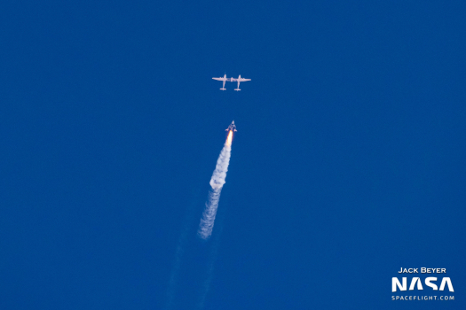 Virgin Galactic successfully makes first human spaceflight from New Mexico