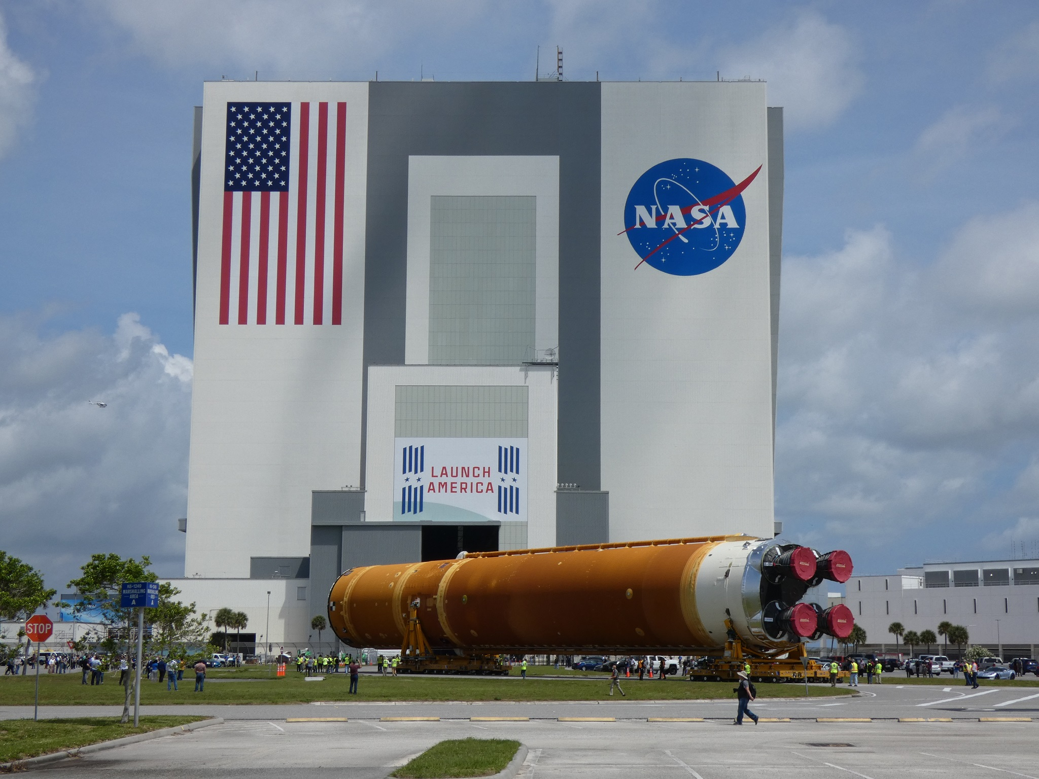 Ten month schedule to ready SLS for Artemis 1 launch after Core Stage arrives at KSC