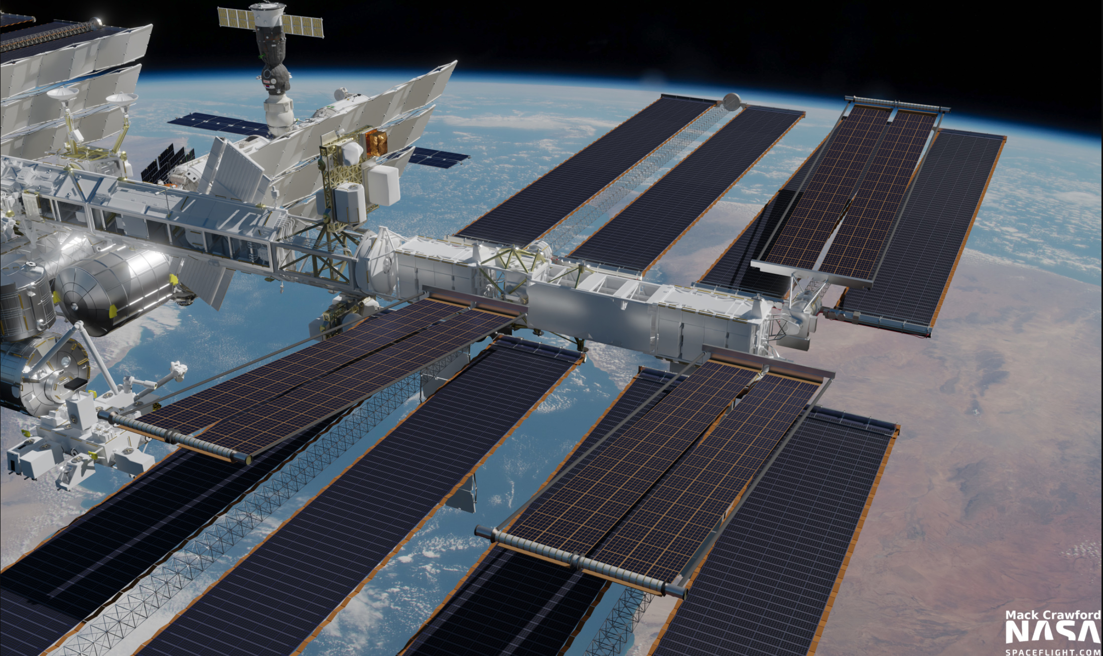 ESA/NASA complete ISS spacewalk to install first new solar array