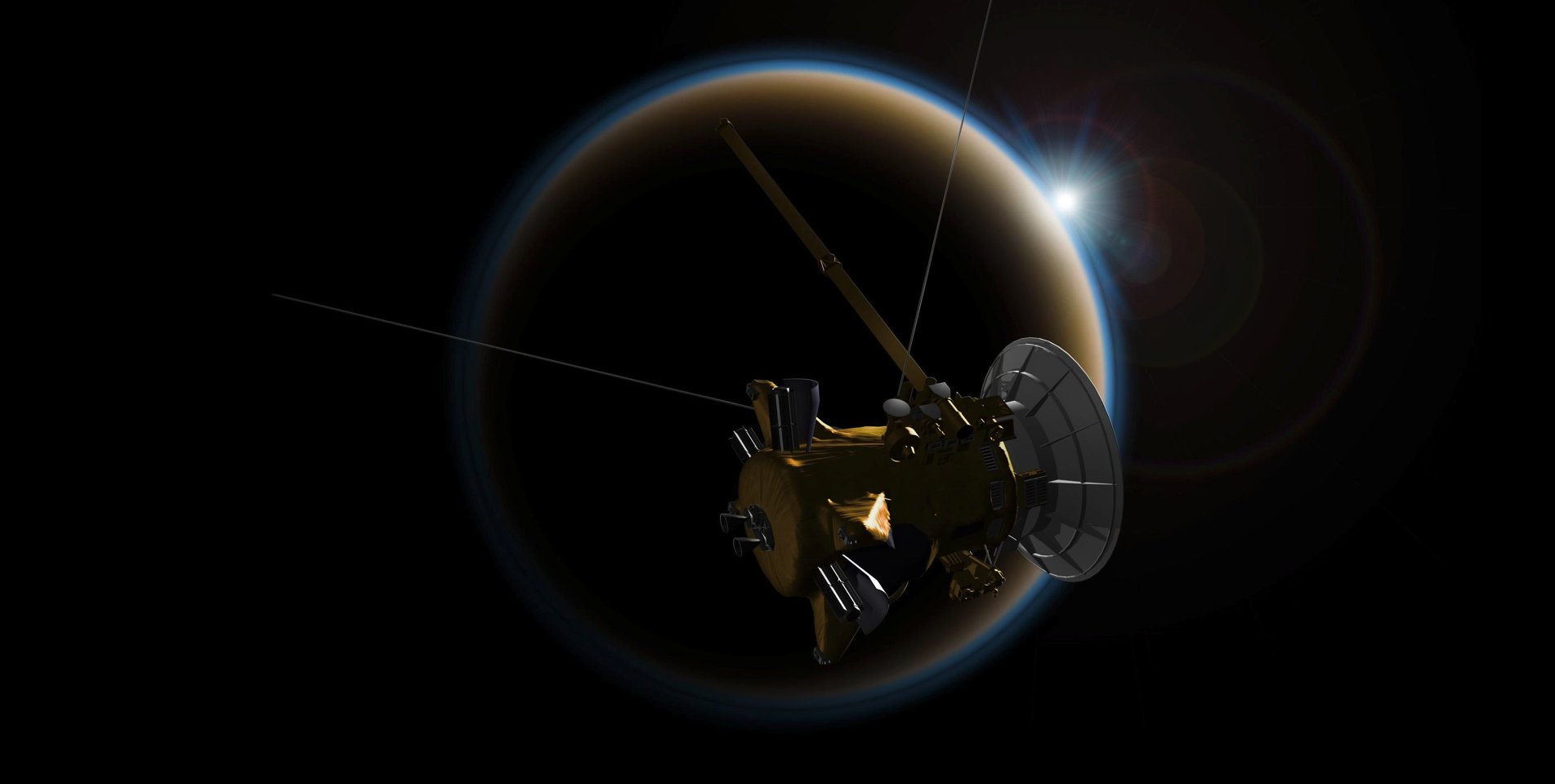 Titan impact craters reveal connections to planetary weather, set the stage for Dragonfly
