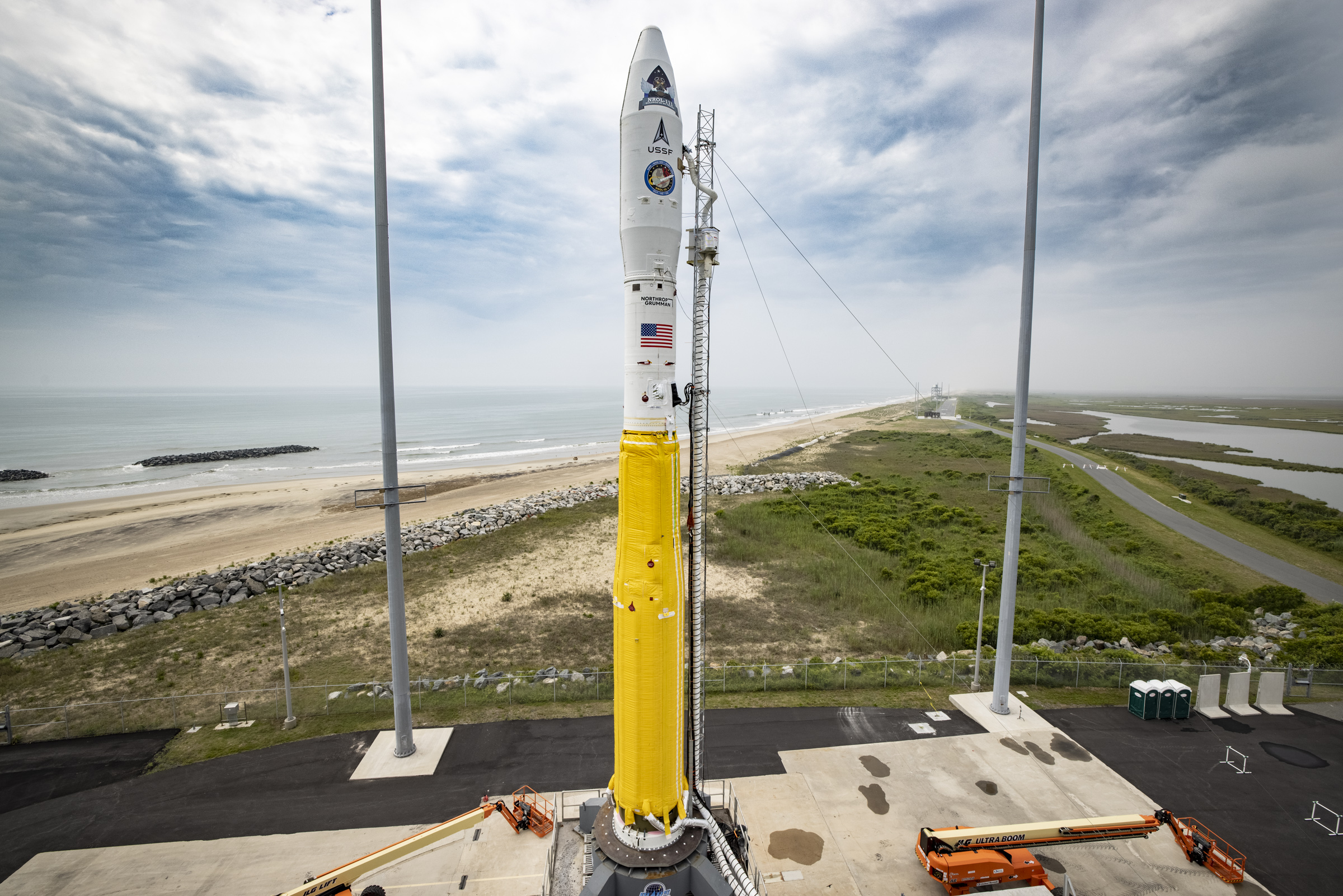 Northrop Grumman ready for second classified US government mission in two days with NROL-111