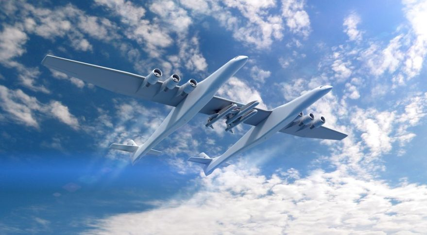 - stratolaunch pegasus 879x485 1 - Pegasus XL rocket to carry out Tactically Responsive Launch demo for Space Force