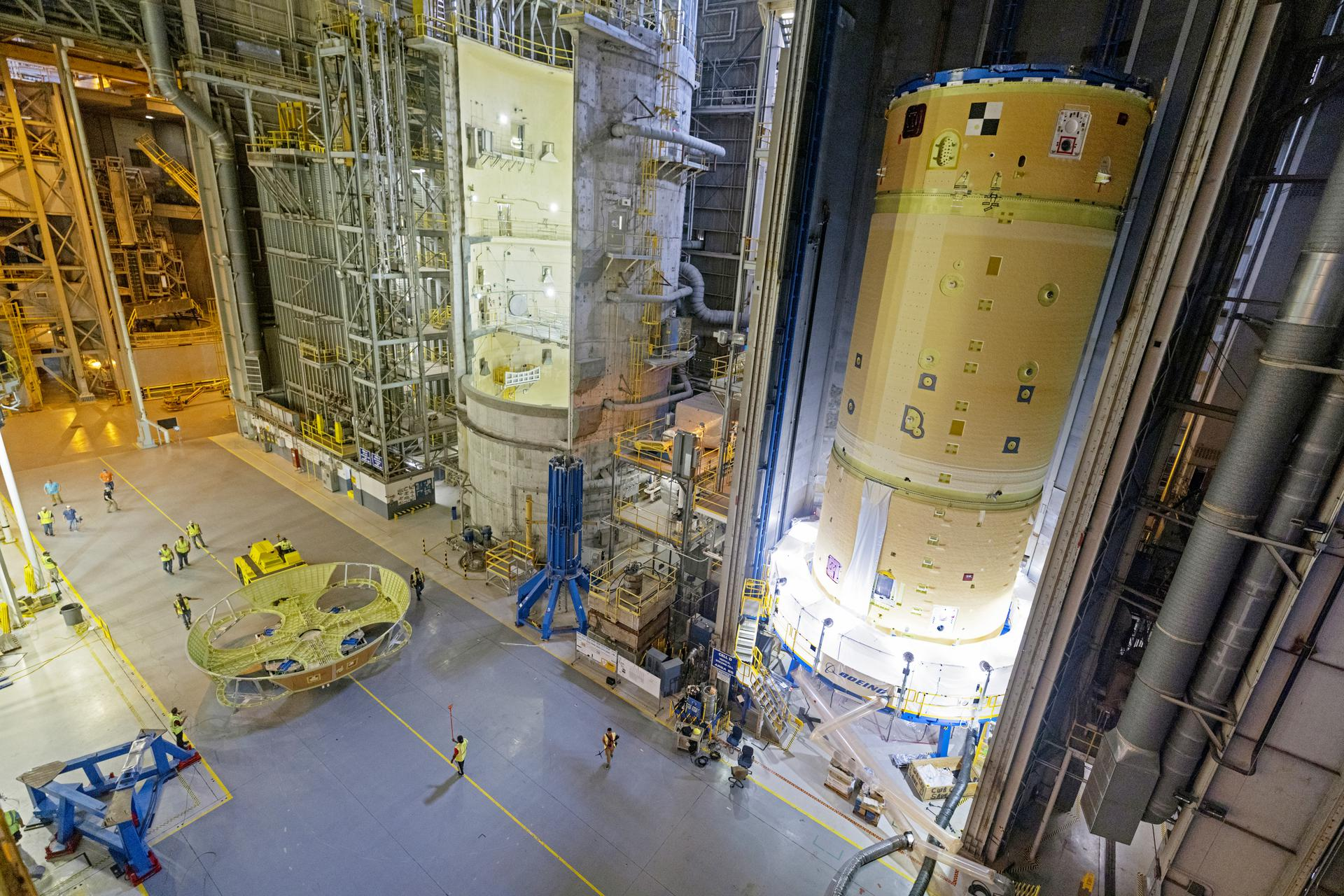 Boeing working on multiple Cores, first EUS hardware for Artemis missions 2-4