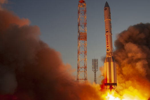 Nauka science module launches to ISS