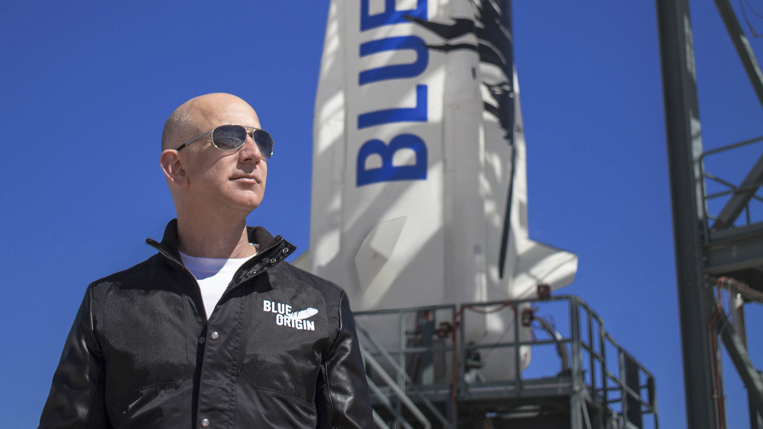 """Blue Origin preparing for first crewed flight with four crew, including founder Jeff Bezos and """"Mercury 13"""" aviatrix Wally Funk"""