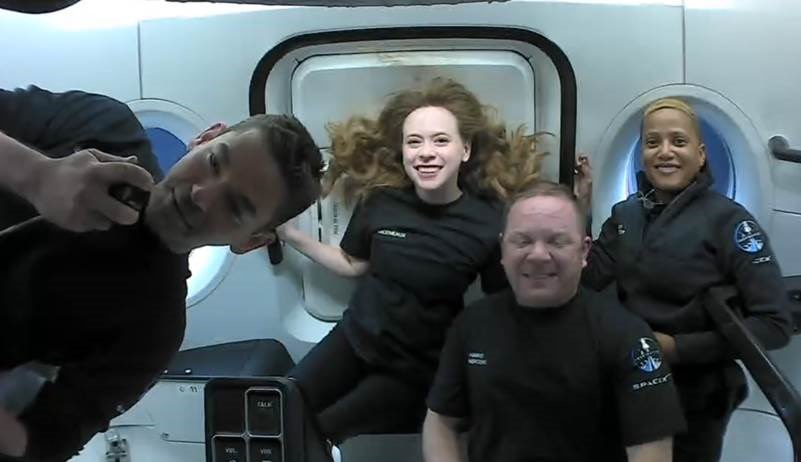 Inspiration4 and all-civilian crew return to Earth with splashdown off Florida coast