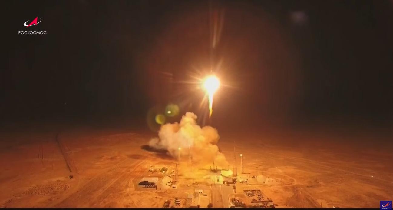 Soyuz mission launches 34 OneWeb satellites to orbit