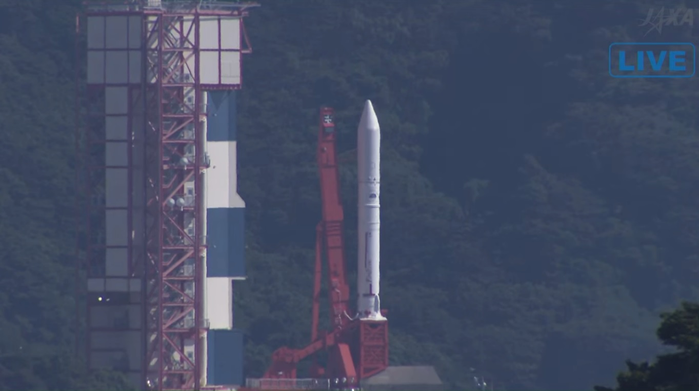 Japan's Epsilon scrubs another attempt to launch RAISE-2 and eight secondary satellites