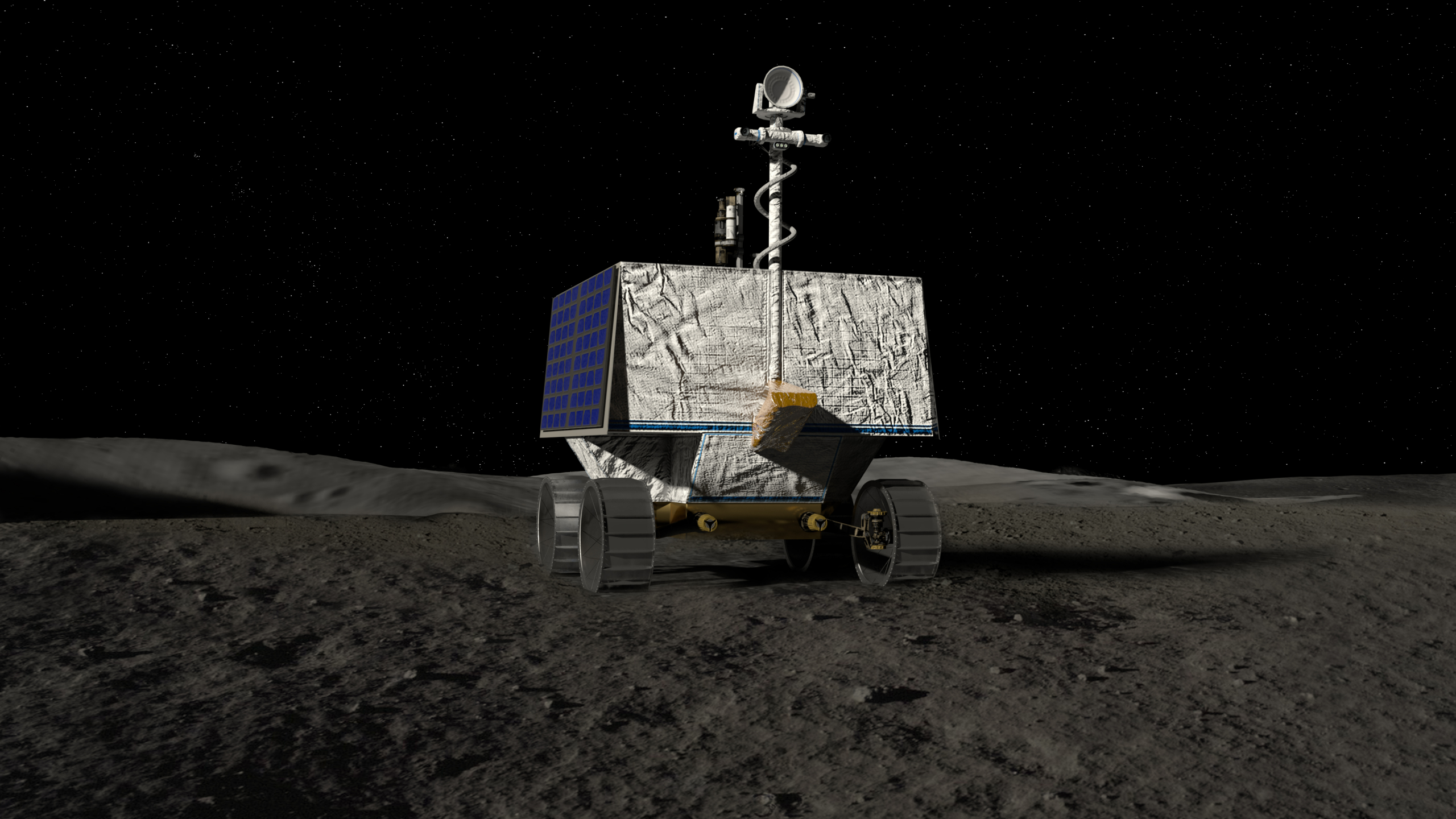 NASA VIPER rover and Astrobotic Griffin lander select moon landing site for 2023